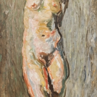 Torso, 1949, Oil on canvas, Oil on canvas, 89 x 74 cm, The Simonow Collection