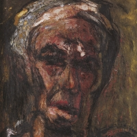 Self Portrait, 1961, Oil on canvas, 46 x 36 cm, The Simonow Collection