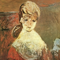 The Artist's Wife, 1960, Oil on canvas, 76 x 61, Gotlib Family Collection