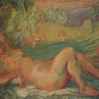 Venus of Surrey, 1946, Oil on canvas, 109 x 160 cm, Private collection