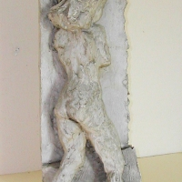 Back View of Nude, pre 1949, Plaster, 56 cm high, Gotlib Family Collection