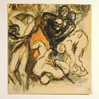 Untitled, pre 1932, Watercolour on paper, 21 x 20 cm, Gotlib Family Collection