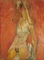 Nude, 1963, Oil on canvas, 102 x 76 cm, Gotlib Family Collection
