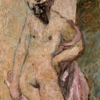 Nude with Bowed Head, 1957, Oil on canvas, 107 x 71 cm, Private collection