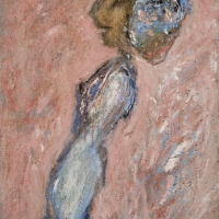 Girl, 1964, Oil on canvas, 37 x 25 cm, Private collection