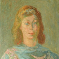 The Artist's Wife, 1944, Oil on canvas, 51 x 61 cm, Private collection