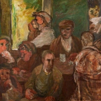 Workers at Noon, 1951-52, Oil on canvas, 142 x 181.5 cm, Strathclyde University