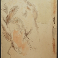 Janet, 1943, Watercolour on paper, 31 x 25 cm, Gotlib Family Collection